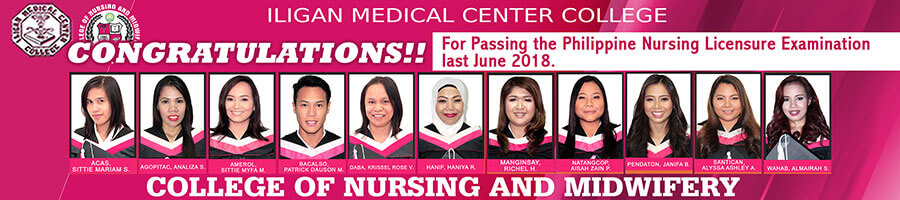 College of Nursing and Midwifery 2018