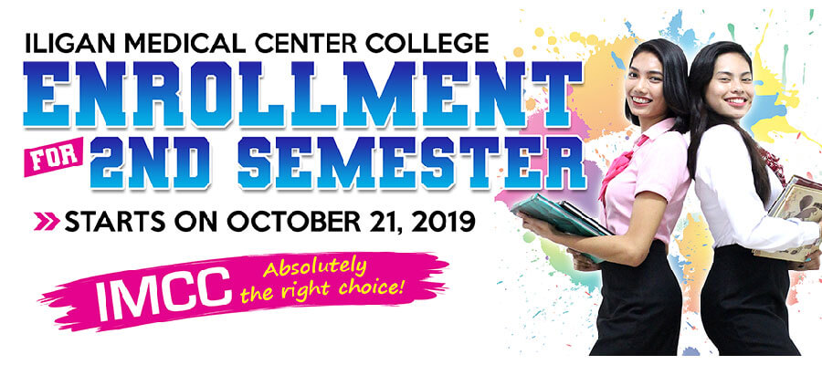 imcc 2nd semester 2019-2020 enrollment