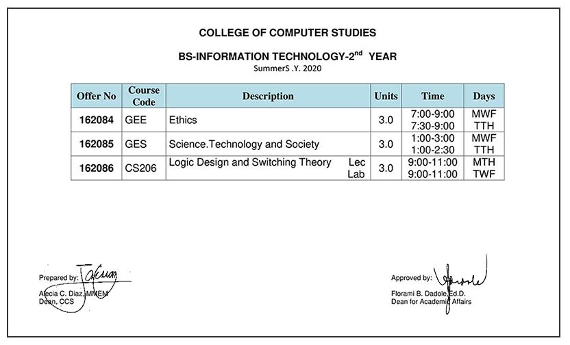 ccs summer enrollment 2020