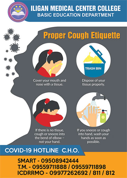 proper cough etique