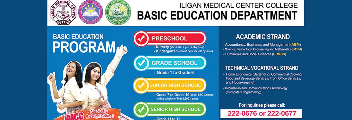 basic education department