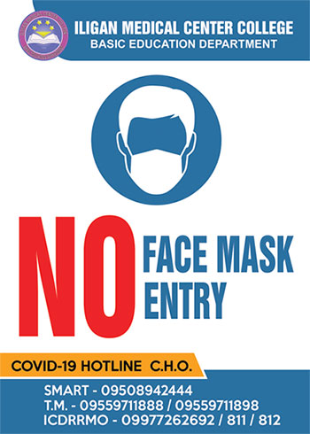 no facemask no entry