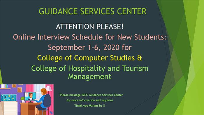 iligan medical center college -guidance services office